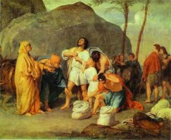 Joseph's Brothers Find the Silver Goblet in Benjamin's Sack, by Alexander Ivanov