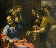 Joseph's Coast Brought to Jacob, by Giovanni Andrea de Ferarri