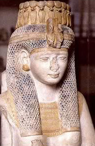 Meritamun, one of Rameses II's daughters