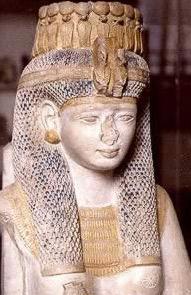 Meritamun, one of Rameses II's daughters