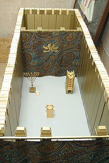 Model of Mishkan