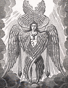 Medieval depiction of a seraph