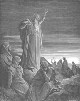 The Prophet Ezekiel by Gustave Dore