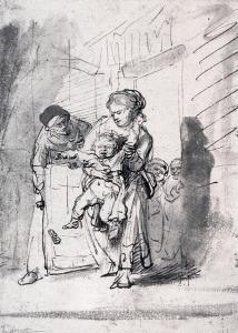 Child in a Tantrum, by Rembrandt van Rijn