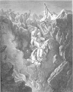 The Death of Korach, Datan, and Abiram, by Gustave Dore