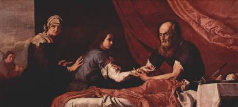 Isaac y Jacob, by Jose de Ribera