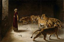 Daniel in the Lions' Den, by Briton Riviere