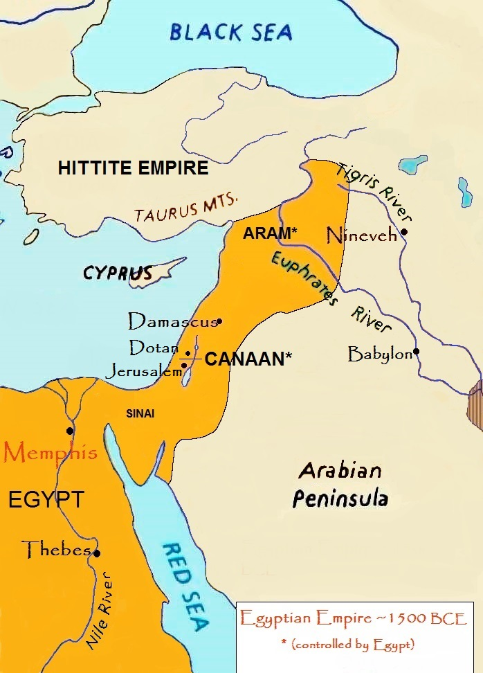 Joseph And His Brothers Torahsparks - Map of egypt goshen