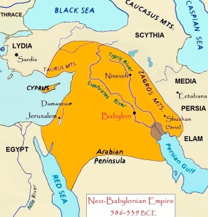 King Nebuchadnezzar brings Daniel from Jerusalem to Babylon