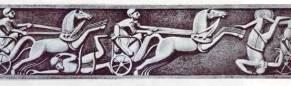 War chariots, ivory plaque from Megiddo