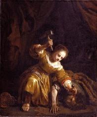 Jael and Sisera, by Jan de Bray