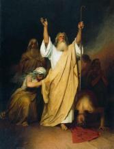 Moses by Ivan Kramskoy, 1861