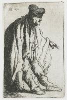 Beggar, by Rembrandt van Rijn