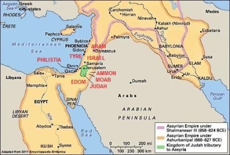 map Amos ch 1-2