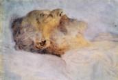 Old Man on his Deathbed, by Gustav Klimt