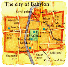 map of Babylon