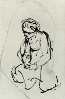 sketch by Rembrandt