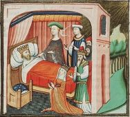 King David with Avishag and Bathsheba, c. 1435