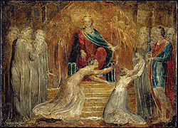 The Judgment of Solomon by William Blake